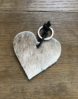 Schlüsselanhänger Herz Melange