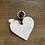 Thumbnail: Schlüsselanhänger Herz Creme