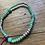 Thumbnail: Perlen Armband Türkis