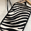 Thumbnail: Umhängetasche Zebra hell