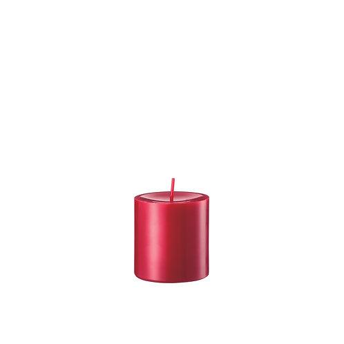 Gegossene Kerzen Zinnober