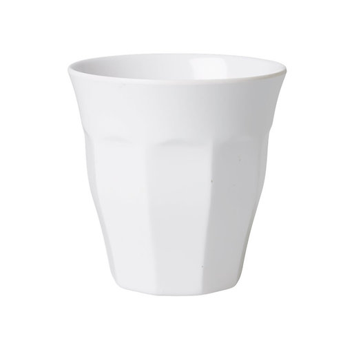 Medium Melamine Becher - Weiß