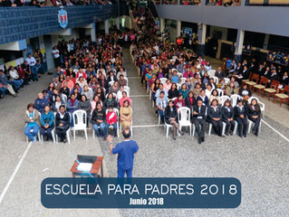 ESCUELA PARA PADRES - BIMESTRE I 2018