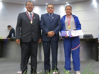 Premiación Juegos Deportivos Escolares Nacionales 2017 . Ugel 04 TSE. 2017