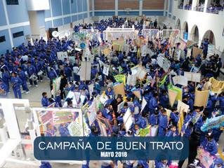 CAMPAÑA DE BUEN TRATO Y PANCARTEANDO 2018
