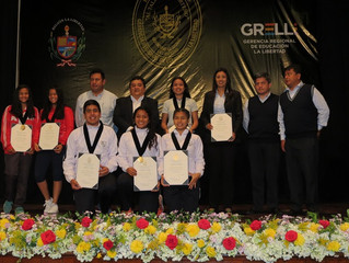 Premiación Campeona Nacional Juegos Deportivos Escolares Nacionales- Samantha Ascoy Alva - 2017