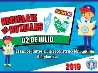 CAMPAÑA - RECOLECCIÓN DE BOTELLAS