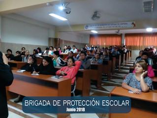Conformación de Brigadas de Protección Escolar (BAPE) 2018