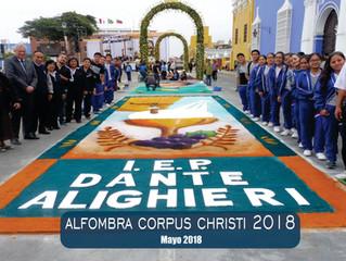Elaboración Alfombra - Corpus Christi 2018