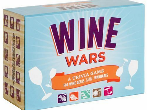Wine Wars! : A Trivia Game for Wine Geeks and Wannabes