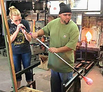 Glass Blowing Class then Wine Tour