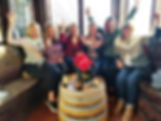 March 9th 2019 1A Glass blowing & wine.j