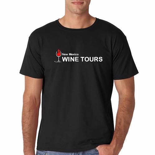 Black Unisex SoftStyle Adult Logo T-shirts