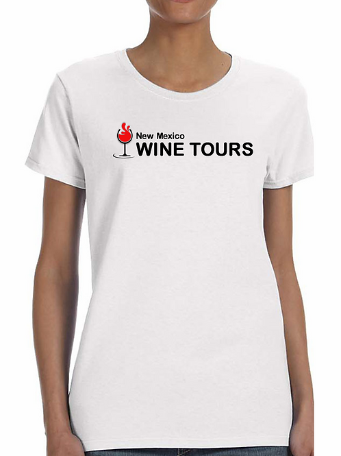White Women's Logo T Shirt