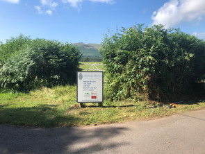 We are signposted from BailyHelig Road