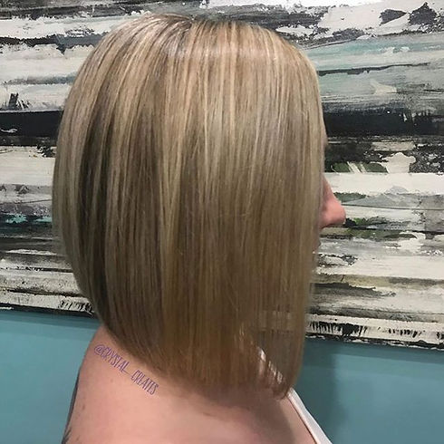 We're lovin this blonde by Crystal! All