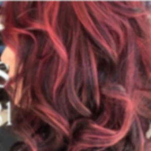 Fun, bold red highlights by Lisa are 🔥🔥! Check out the rest of her work _lisalane104 #tampahair #t