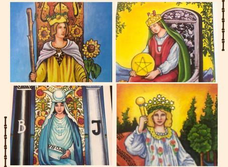 Women in Tarot Cards