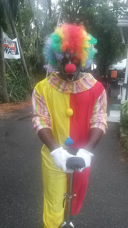 Scary Clown Character
