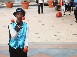 One Man Juggling