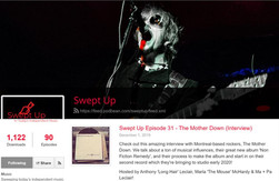 checkout our interview on The Swept Up Podcast