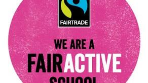 Belgrave gains the Fairtrade Fairactive award!