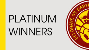 Platinum Winners 2016-17 (updated 17th July 2017)