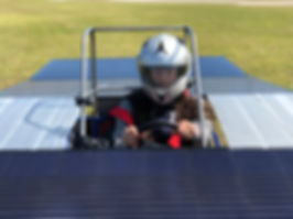 Homestead Miami Speedway - CarrollSUN solar car