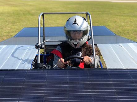 Homestead Miami Speedway - CarrollSUN solar car