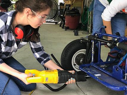 Carrollton School of the Sacred Heart- CarrollSUN solar car team- Sabine Meurs