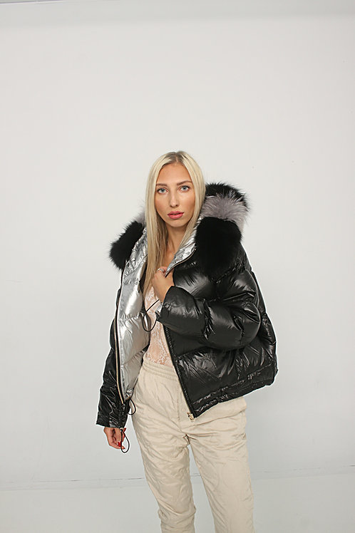 Naija Reversible Puffer Jacket