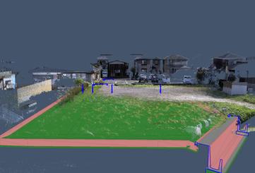 点群データと3D設計データ