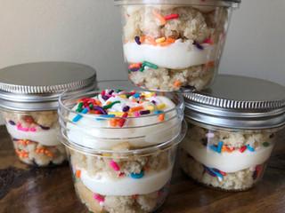 Funfetti Cake Jar