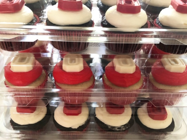 All cupcakes come packaged in cupcake containers!