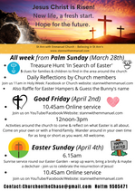 Join us this Easter week