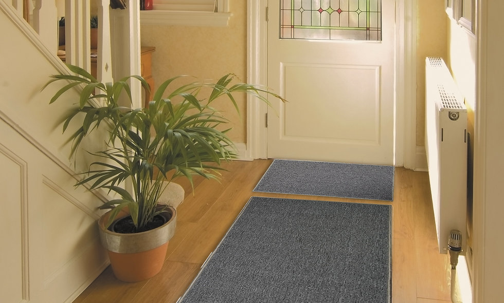 Machine Washable Plain Barrier Door Mat Carpet Pile