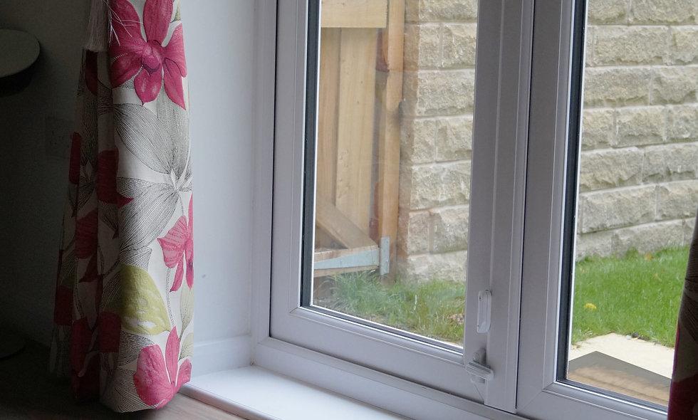 Washable Multi Stripe Door Mat Made in UK