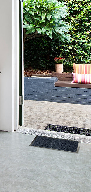 HEAVY DUTY NON SLIP BARRIER MAT LARGE SMALL RUGS RUNNER KITCHEN DOOR HALL