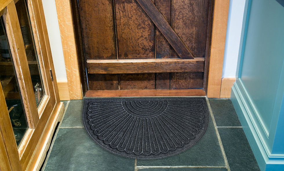 Contour Recycled Rubber Mat