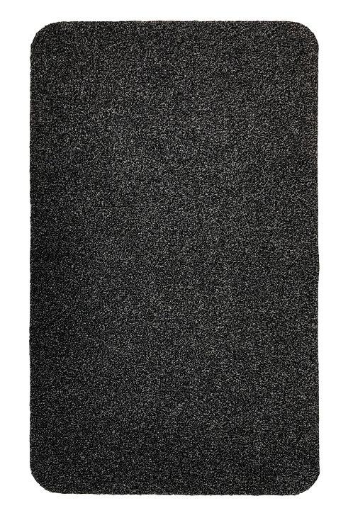 Machine Washable Stain Resistant Barrier Door Mat, Charcoal, 60 x 100 cm