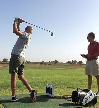 séance de fitting de golf marrakech training camp cours stages séjours