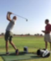 cours de golf marrakech analyse avec un launh monitor