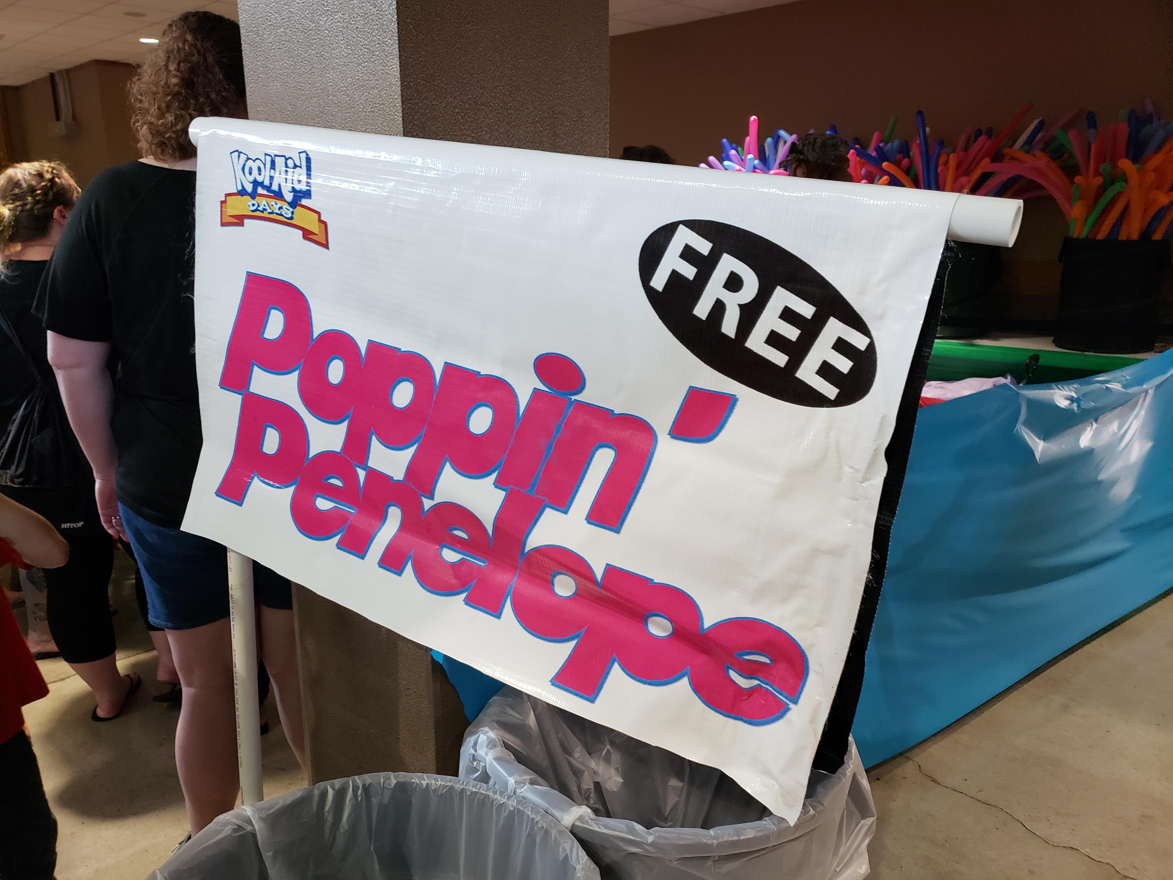 FREE Poppin' Penelope!