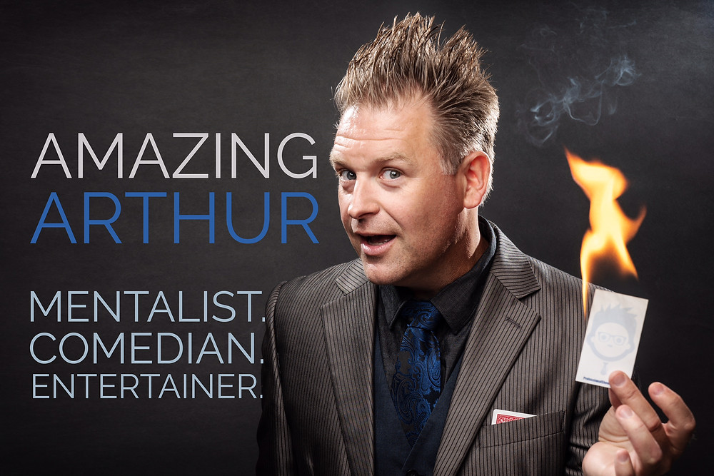 Omaha Mentalist and Comedian The Amazing Arthur