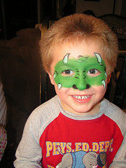 Dinosaur Face Painter