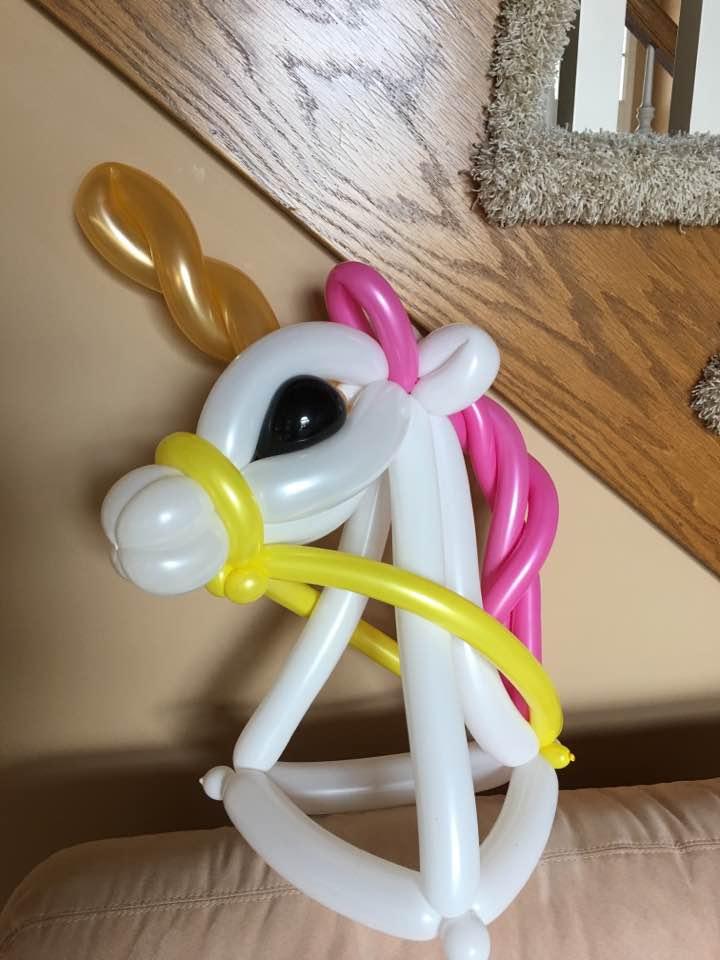 Unicorn Balloon Hat