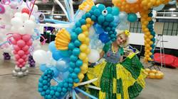massive balloon sea horse