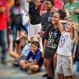 Kids reacting to something amazing