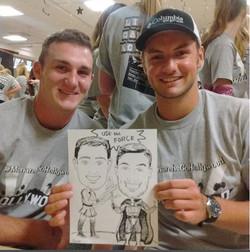 Omaha Caricature Artist