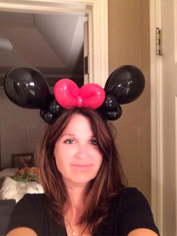 Minnie Mouse Hat by Teri
